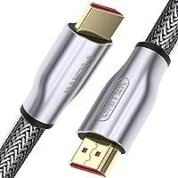 Unitek HDMI-2.0 电缆 LUX 编织Y-C142RGY 10m