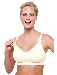 Bravado Designs 加拿大进口孕期丝雅无痕哺乳胸罩哺乳文胸 象牙白色 M号