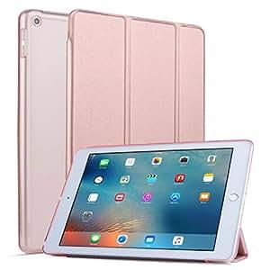 Vimorco iPad 9.7 保护套 2018/2017 iPad 保护套,适用于 Apple iPad 9.7 英寸高级皮革保护套,多视角支架,也适用于 iPad Air 2/iPad Air
