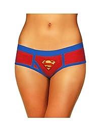 - 加大码超人平角内裤,加大码红色和蓝色内裤