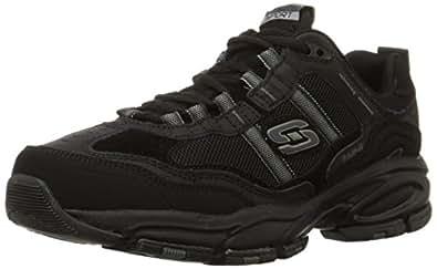 Skechers 斯凯奇 Sport 男士 Vigor 2.0 Trait 记忆泡沫运动鞋 黑色 6.5 D(M) US