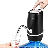 WORGEZ 饮水器 5 加仑(约 13.7 升)电动水瓶泵便携式USB充电自动水壶分配器泵,适用于家庭、办公室、户外、露营