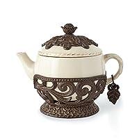 907.18 克陶瓷茶壶
