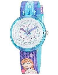FlikFlak 女孩模拟石英手表材质表带 FLNP027