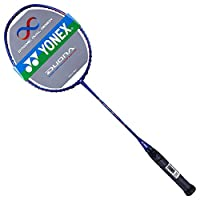 YONEX 尤尼克斯 中性 羽毛球拍双刃异型攻守兼备全碳素羽拍 DUORA SS 蓝色(亚马逊自营商品, 由供应商配送)