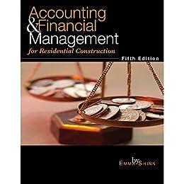 """Accounting & Financial Management for Residential Construction (English Edition)"",作者:[Emma Shinn]"