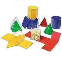 Learning Resources 折疊幾何形狀,幾何/數學輔助,16件套,7歲以上