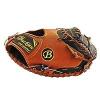 BUCKLER 'Fame Pro' 系列 - 高级德州阉牛皮成人棒球手套 - 捕手手套 - 85.09 厘米 - RHT   LHT