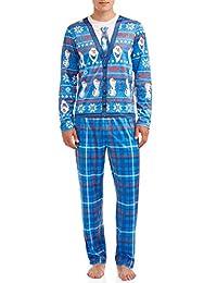 Disney 冰雪奇缘 Olaf 男式 2 件套睡衣套装
