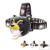 Sun Company Bear LED 头灯 - 儿童小熊头灯 | 多种款式可选 | 男孩、女孩或成人玩具头灯 | 非常适合露营、远足、阅读和派对