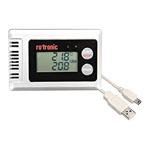 ROTRONIC HL-1D-SET 水文和温度数据记录器,带水文显示屏,灰色