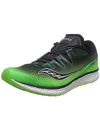 Saucony 圣康尼 TEC 男 跑步鞋 FREEDOM ISO S203554717C 绿/黑 40