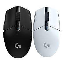 罗技 (G) G304 LIGHTSPEED无线游戏鼠标 无线鼠标 吃鸡鼠标 绝地求生 鼠标宏 (白色)