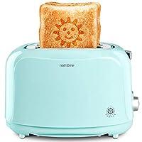 Nathome 北欧欧慕 多士炉烤面包机2片早餐机吐司机家用全自动NDS3019(亚马逊自营商品, 由供应商配送)