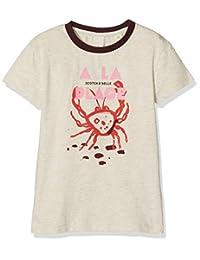 Scotch & Soda 女孩运动背心常规版型短袖 T 恤 闪亮混色