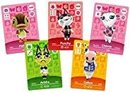 24PCS 动物十字架系列 1-4 NFC 卡,新地平线