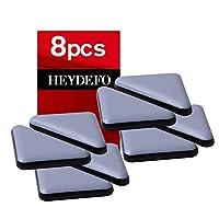 家具滑块适用于地毯和硬木地板粘合家具滑动自杆家具滑块垫 triangle35mm