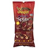 "Unique Pretzels Extra Dark Pretzel ""Splits"", 11-Ounce, 12 Bags"