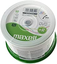Maxell DVD+R 4.7GB DVD+R 50pc(s) - blank DVDs (4.7 GB, DVD+R, 50 pc(s))