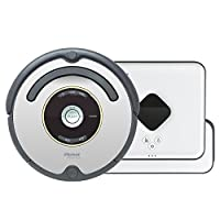 iRobot 艾罗伯特 Roomba 651 + Braava 381 扫地擦地机器人组合套装 吸尘器(购机送价值199元600系列配件+价值199元清洁布套装(3蓝),邮件至amazon@covinda.com领取)