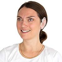 铝箔和塑料处理帽,用于*和处理 - 一次性淋浴帽 - 深层调理发帽 Ear Caps - Box of 100