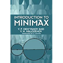 Introduction to Minimax (Dover Books on Mathematics) (English Edition)