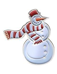 """Snowman 1"""" 帽子或翻领别针 AVAP0228k"""