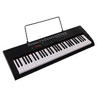 深港 61键标准钢琴键电子琴数码屏版(亚马逊自营商品, 由供应商配送)