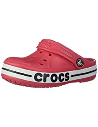 Crocs 卡骆驰儿童男孩和女孩 Bayaband 洞鞋