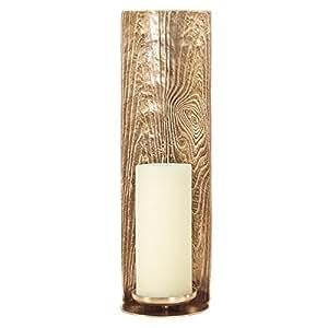 HOWARD elliott 纹理金色蜡烛支柱支架