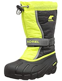 Sorel 男孩青少年Flurry 雪地靴