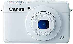 Canon 佳能 PowerShot N100 便携数码相机 (白色)