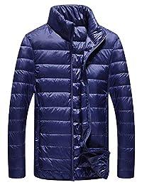 MPSMOVE 思慕夫 2018冬季新款男士简洁外套男装轻薄羽绒棉服男士保暖外套Z992【11】