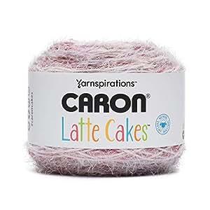 Caron Latte 蛋糕自带纱线,8.8 盎司 / 250g,530 码 / 485 米 Blackberry 291222-22011 8.8 oz, 250g 29122222011