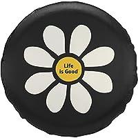 Life is Good 轮胎套新雏菊