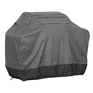 Classic Accessories 55-594-030801-EC FadeSafe Heavy Duty Grill Cover, PARENT 灰色 中
