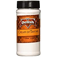 Cream of Tartar by Its Delish, 13 Oz Medium Jar