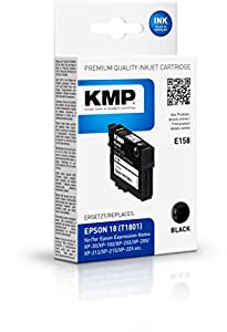 KMP 墨盒用于 Epson Expression Home XP-102/XP-202, E158, 黑色