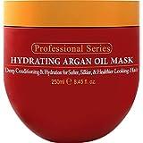 Arvazallia 保湿摩洛哥坚果油发面膜和深层护发素,用于干发或残损发质 - 8.45 盎司