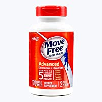 Schiff Movefree 旭福 维骨力氨糖软骨素片剂红瓶养护版 170粒/瓶 关节养护 美国进口 包税