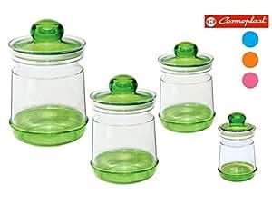 COSMOPLAST 罐 MILLEUSI 多色容量1000毫升 D13 x H16