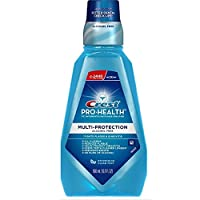 Crest Pro-Health Multi-Protection Mouthwash, Refreshing Clean Mint 16.90 oz Pack of 9