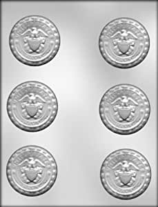 CK Products 2-1/4-Inch Navy Insignia Chocolate Mold