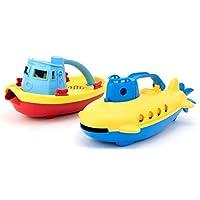 Green Toys 拖船和潛水艇組合套裝