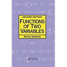 Functions of Two Variables (CHAPMAN HALL/CRC  MATHEMATICS SERIES) (English Edition)