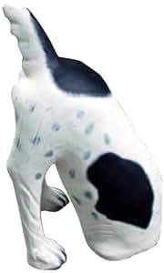 LadyBug 狗狗卡住户外雕像,手绘
