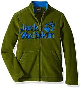 Jack Wolfskin Vargen 夹克 Size92(18-24) 绿色 1607551-4521092