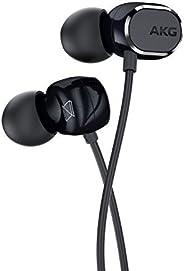 AKG N25 运河型耳机 对应高分辨率双动态 安卓/远程麦克风 搭载 黑色 iOS 转换开关 AKGN25BLK
