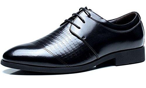 FGN 皮鞋 男士 时尚商务休闲皮鞋 型男正装鞋 系带尊贵男鞋11497597