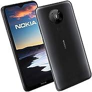 Nokia 5.3 6.5 英寸 Android UK 免SIM卡智能手机 4 GB RAM 和 64 GB 存储(双卡) - 炭黑色